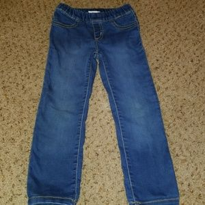 4t girls jeans (pullup elastic band)